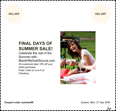 Summer Sale Coupon