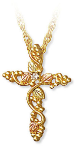 Black Hills Gold cross