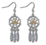 Sterling Silver Dreamcatcher Earrings