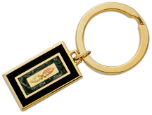 Black Hills Gold Key Ring with Black Hills Gold Leaves