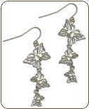 Black Hills Silver Butterfly Earrings (SKU: ER1042SS)
