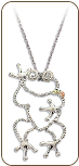 Sterling Silver Frog Pendant (SKU: PE1921SS)