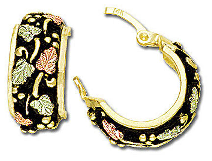 Black Hills Gold Earrings iamge