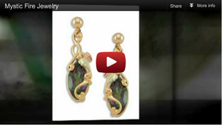 Black Hills Gold Mystic Fire jewelry video