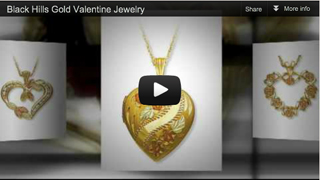Black Hills Gold Valentine Jewelry video