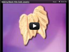Making Black Hills Gold Jewelry video
