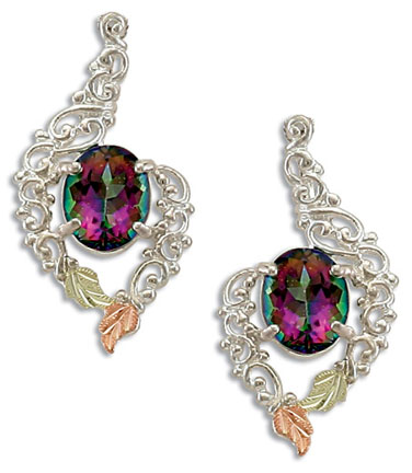 ER625PSS-471 Mystic Fire Earrings