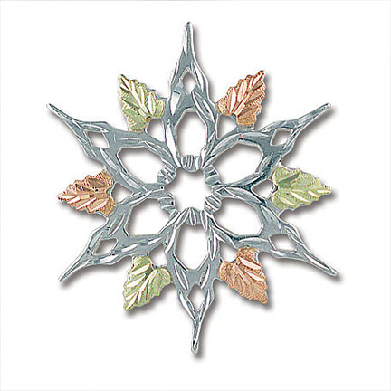 Landstroms PN413SS Snowflake Pin
