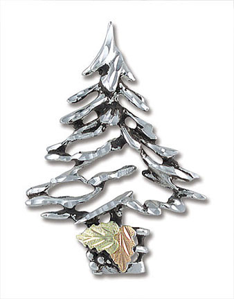 Landstroms PN415SS Christmas Tree Pin