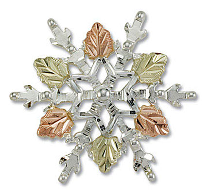 Landstroms PN873SS Snowflake Pin