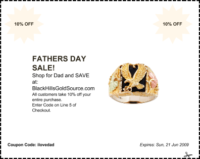 Father's Day Sale Coupon