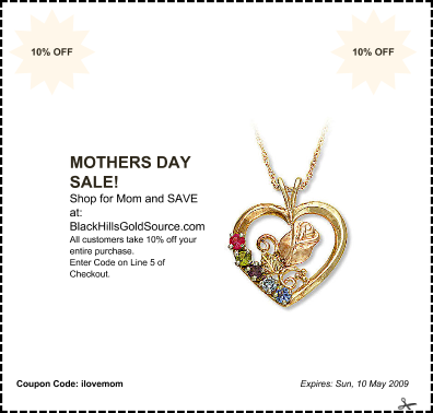 Mother's Day Sale Coupon