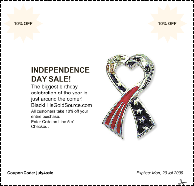 Independence Day Sale Coupon