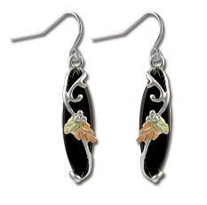 Black Hills Silver Onyx Earrings