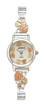 Landstroms Ladies Gold on Sterling Silver Watch and Band