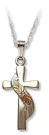 Black Hills Silver Cross Necklace