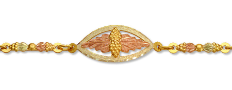 Black Hills Gold Traditional Bracelet