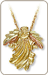 Black Hills Gold Angel Pendant (SKU: 03641)