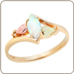 Ladies Black Hills Gold Opal Ring (SKU: LR2948)