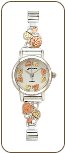 Landstroms Ladies Gold on Sterling Silver Watch and Band (SKU: 09284B-SS-09250-SS)
