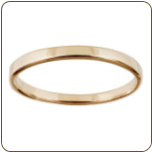 Ladies Black Hills Gold Solid Band (SKU: G LWR937BD)