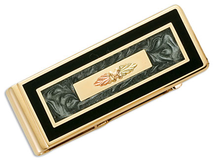 Black Hills Gold money clip image OT552