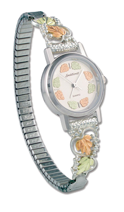 ladies Black Hills Silver watch