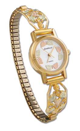 ladies Black Hills Gold watch