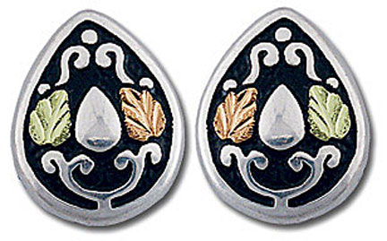 ER831SS Black Hills Silver Earrings