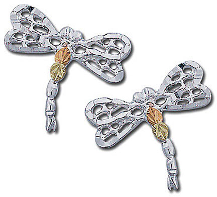 Landstroms ER863PSS Dragonfly Earrings
