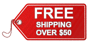 FREE Shipping For Orders Over $50