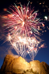 Rushmore fireworks display