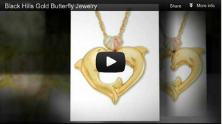 Black Hills Gold Butterfly Jewelry video